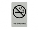 Lawrence Acrylic 'No Smoking' Sign