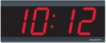 Electric Digital Wall Clock - 3' 4-Digits - Syncronized to NTP Time