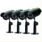 SVAT Four Additional Indoor/Outdoor Night Vision CCD Security Cameras
