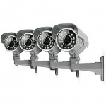 SVAT Four Additional Indoor/Outdoor Long Range Night Vision High Resolution CCD Security Cameras