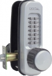 Lockey-1600 Keyless Heavy Duty Knob Lock with Passage