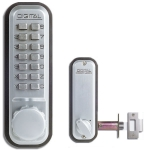 Lockey-2230 Deadlocking Spring Latch with Optional Key Override