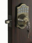 Lockey E910 E-Digital Deadbolt with Optional Remote Control