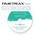 TimeTrax Sync Software for Pyramid Wireless Clocks